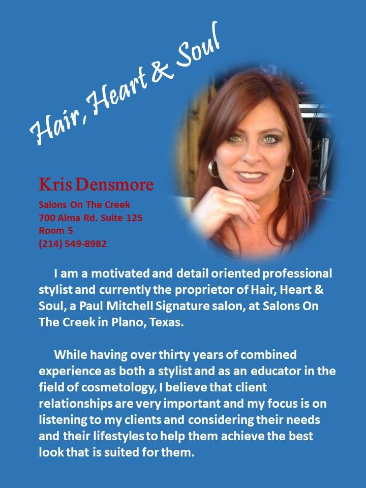 Kris At Hair Heart Soul Hair Salon In Plano Tx Top Hair Salon