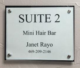 Mini Hair Bar
