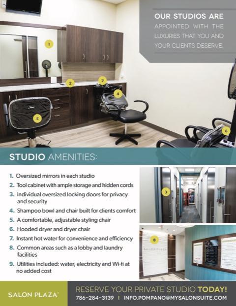 Lease Deals Near Me >> Salon Plaza | Best Luxury Salon Suites in Pompano Beach, FL