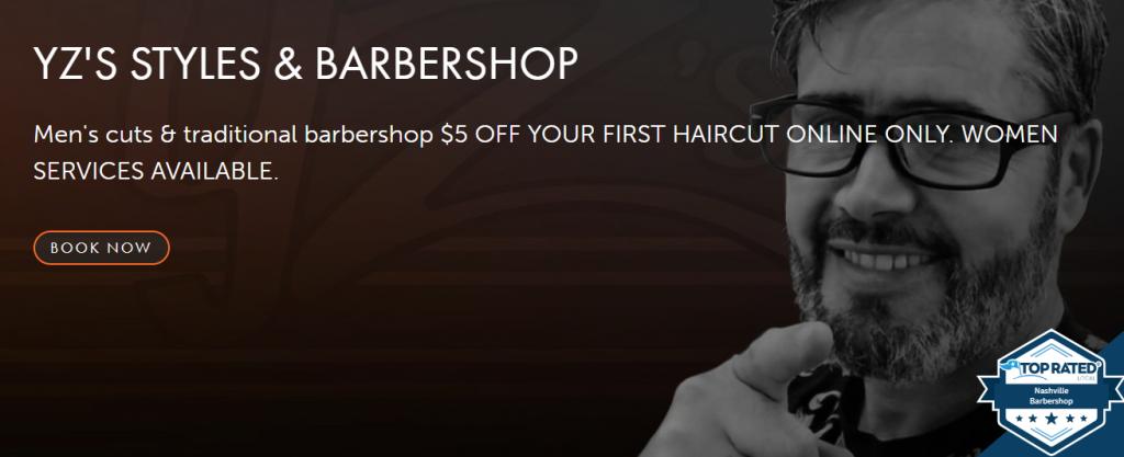 YZs Styles & Barbershop Best Barbershop Nashville TN Best Mens Cut